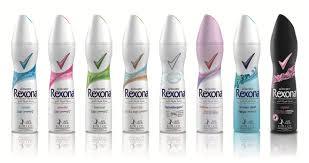 Rexona deo spray men/women