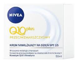 Nivea Q10 Plus - kremy do twarzy 50ml dzień, noc