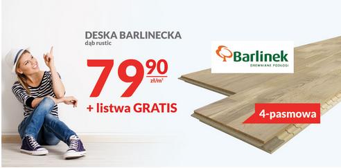 Deska Barlinecka dąb rustic
