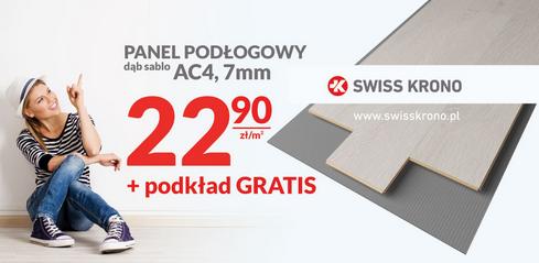 Panel podłogowy dąb sablo AC4, 7mm