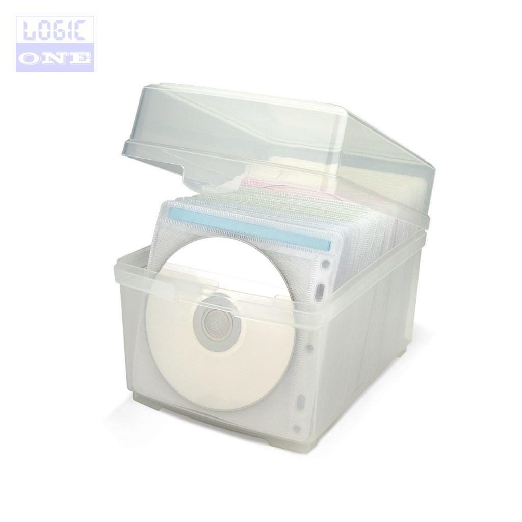 PUDEŁKO CD SLEEVES CD100SB z koszulkami AIDATA