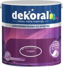 Farba lateksowa DEKORAL 5L + zestaw malarski