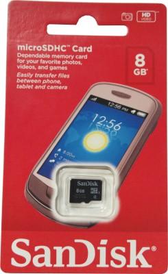 Karta pamięci SANDISK 8GB CLASS4