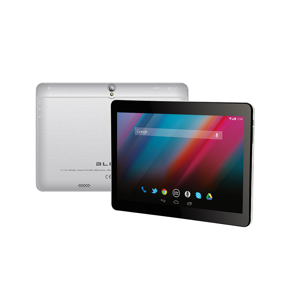 "Tablet BLOW SilverTab10"" Andr.4.4,8GB,1GB-DDR, A7-QuadCore1,3GHz,3G,Bt,GPS"