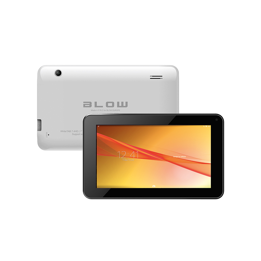 "Tablet BLOW WhiteTab7.4"" Andr.5.1, 8GB, 512MB-DDR3, Quad core 4x1.2GHz"