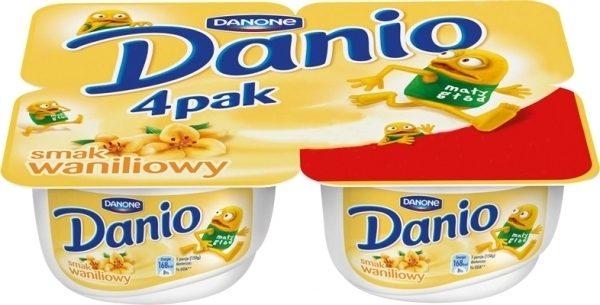 Danio Serek o smaku waniliowym 4x140gr