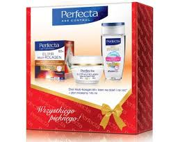 Perfecta Multicollagen zestawy kosmetyczne 50+,60+