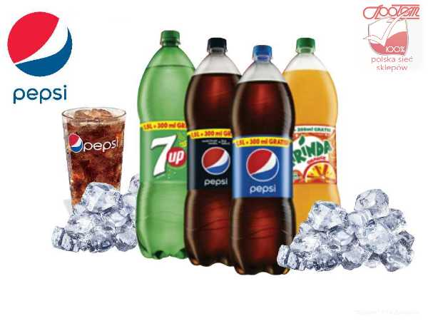 Napoje Pepsi 1,5l + 30% gratis