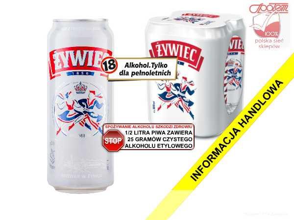 Piwo Żywiec puszka 500ml