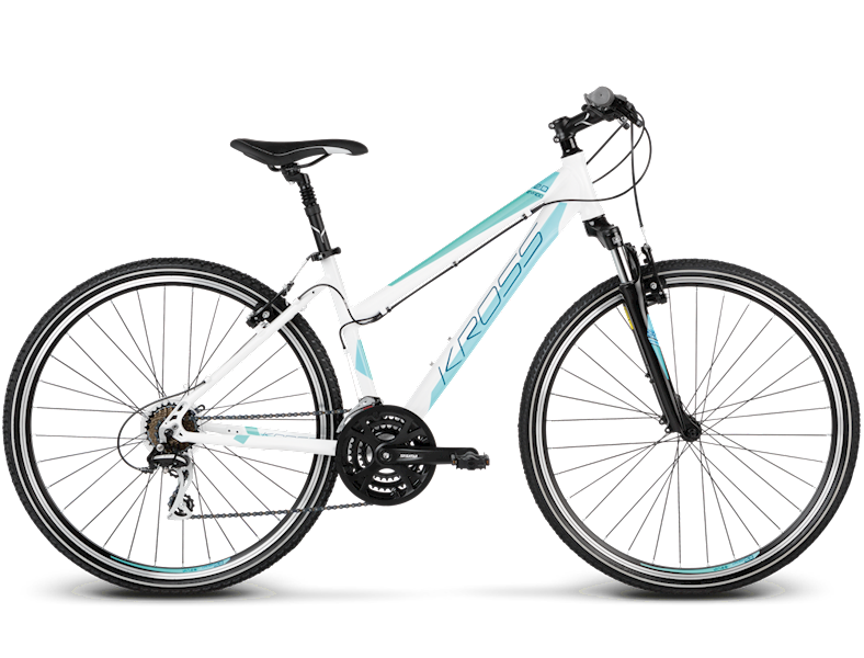 Rower Kross Evado 2.0 wom. M bia/mięt. Poł. 2017