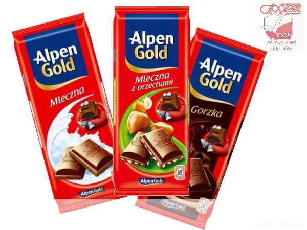 Czekolada Alpen Gold 100g
