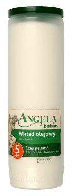 Wkład olejowy Angela, 120h