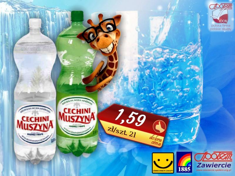 Woda Muszyna 2l