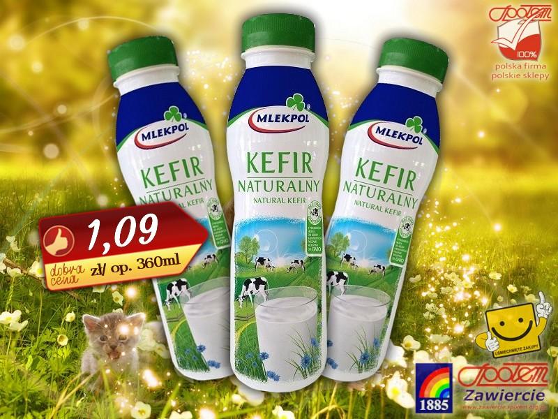 Kefir Naturalny butelka 360ml