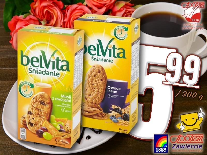 Ciastka Belvita Original 300g