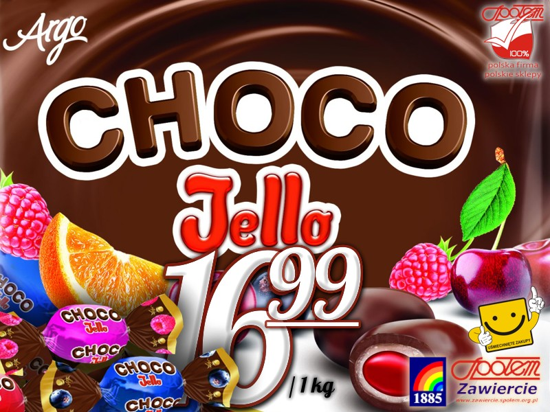 Cukierki Choco Jello