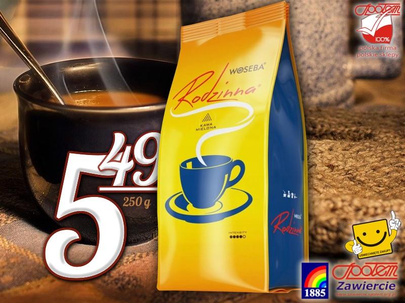 Kawa mielona Rodzinna 250g