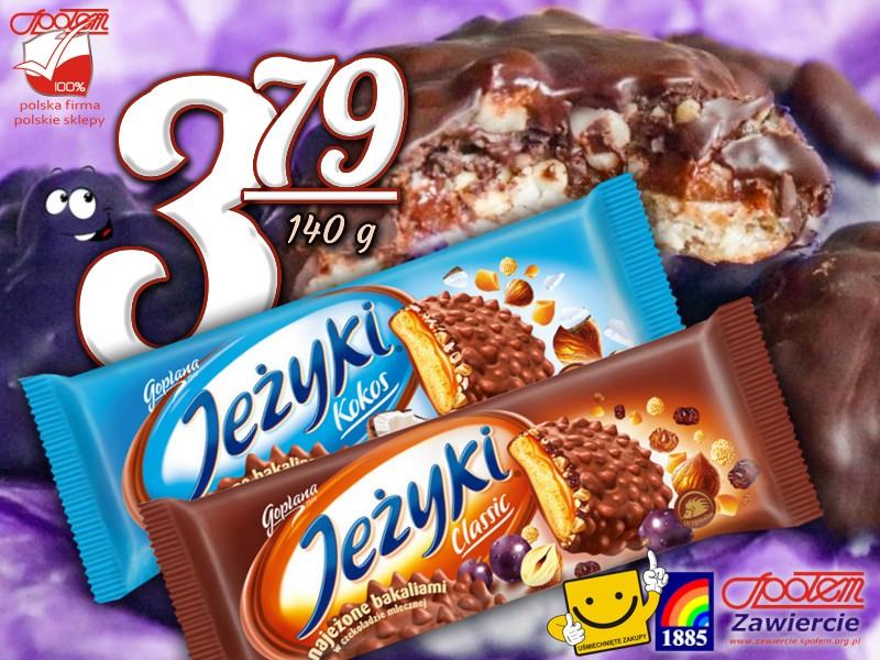 Ciastka Jeżyki 140g